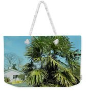 Fan Palm Tree Weekender Tote Bag