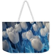 Fanciful Tulips In Blue Weekender Tote Bag