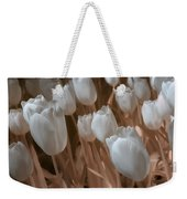 Fanciful Tulips In Peach Weekender Tote Bag