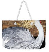 Fancy Feathers Weekender Tote Bag