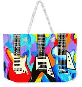 Fancy Guitars Weekender Tote Bag