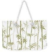 Fancy Japanese Bamboo Watercolor Painting Weekender Tote Bag