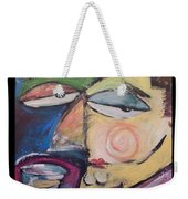 Fancy Man At Art Opening Weekender Tote Bag