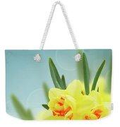 Fancy Spring Narcissus Garden  Weekender Tote Bag