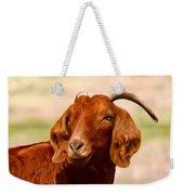 Fancy The Red Goat Weekender Tote Bag