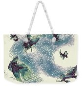 Fantails Weekender Tote Bag