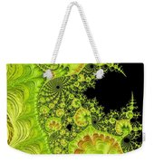 Fantastic Abstract On Black Weekender Tote Bag