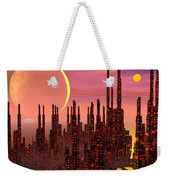 Fantasy City - 3d Render Weekender Tote Bag