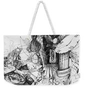 Fantasy Drawing 3 Weekender Tote Bag