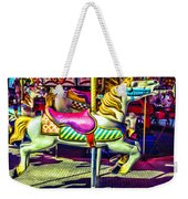 Fantasy Fair Horse Ride Weekender Tote Bag