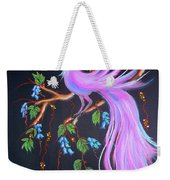 Fantasy Feather Bird Weekender Tote Bag
