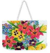 Fantasy Flowers #233 Weekender Tote Bag