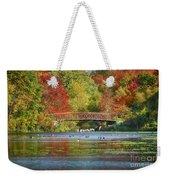 Fantasy Foliage Weekender Tote Bag