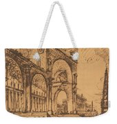 Fantasy On A Magnificent Triumphal Artch Weekender Tote Bag
