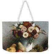Fantin-latour: Fruits, 1865 Weekender Tote Bag