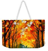 Farewell To Autumn Weekender Tote Bag