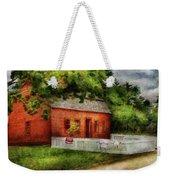 Farm - Barn - A Small Farm House  Weekender Tote Bag