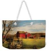 Farm - Barn - I Bought The Farm Weekender Tote Bag