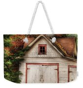 Farm - Barn - Our Old Shed Weekender Tote Bag by Mike Savad