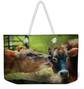 Farm - Cow - Let Mommy Clean That Weekender Tote Bag