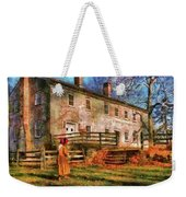 Farm - Farmer - There Was An Old Lady Weekender Tote Bag