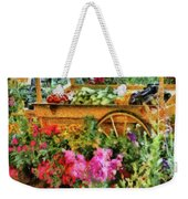 Farm - Food - At The Farmers Market Weekender Tote Bag