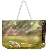 Farm - Geese -  Birds Of A Feather - Panorama Weekender Tote Bag