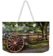 Farm - Horse - Grey Mare Weekender Tote Bag