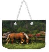 Farm - Horse - In The Meadow Weekender Tote Bag