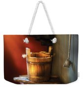 Farm - Pail - Water Pail And Ladel Weekender Tote Bag
