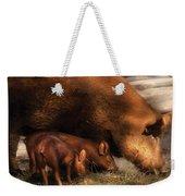 Farm - Pig - Family Bonds Weekender Tote Bag