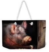 Farm - Pig - Piggy Number Two Weekender Tote Bag