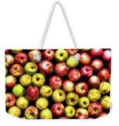 Farm Apples Weekender Tote Bag