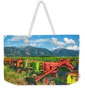 Farm  Art Tractors Weekender Tote Bag