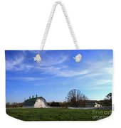 Farm At Sunset Weekender Tote Bag
