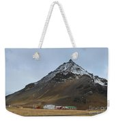 Farm At The Base Of Mt Stapafell Weekender Tote Bag