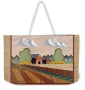 Farm By Ripon-marquetry Weekender Tote Bag