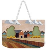 Farm By Ripon -marquetry-image Weekender Tote Bag