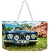 Farm Car - Alpha Gt Weekender Tote Bag