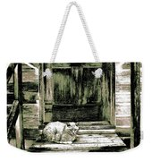 Farm Cat Weekender Tote Bag