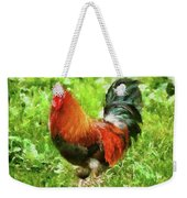 Farm - Chicken - The Rooster Weekender Tote Bag