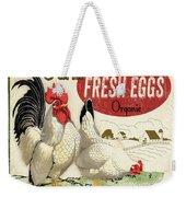 Farm Fresh Eggs-b Weekender Tote Bag
