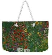 Farm Garden With Flowers Weekender Tote Bag