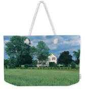 Farm House And Spring Field, Maryland Weekender Tote Bag