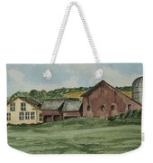 Farm In Summer Weekender Tote Bag