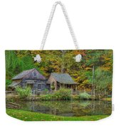 Farm In Woods Weekender Tote Bag