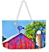 Farm Near Gettysburg Weekender Tote Bag