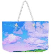 Farm Near San Luis Obispo Weekender Tote Bag