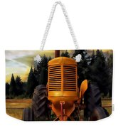 Farm On Weekender Tote Bag by Aaron Berg
