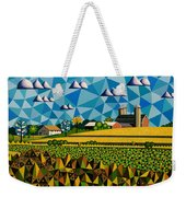 Farm On Hwy 28 Framed  Weekender Tote Bag